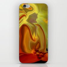 GURU IN MEDITATION iPhone & iPod Skin