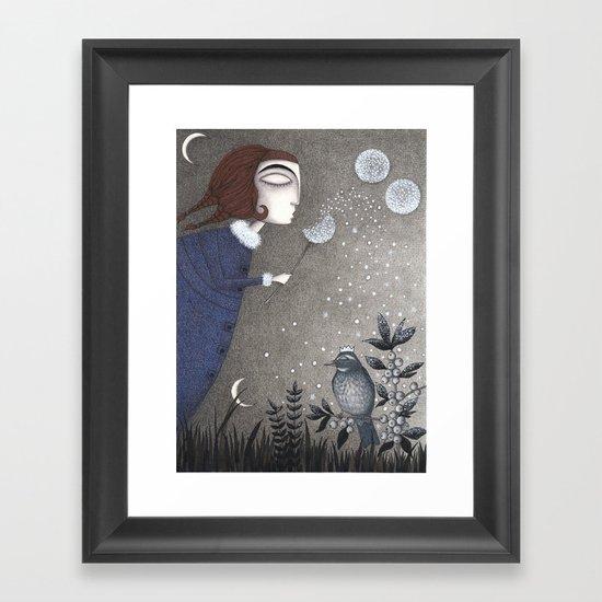 Winter Twilight Framed Art Print