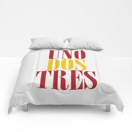 UNO DOS TRES Comforters