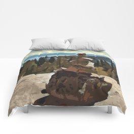Sacred Stones of Tahoe Comforters