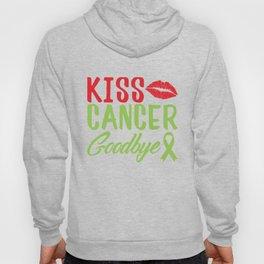 Kiss Cancer Goodbye Design Hoody