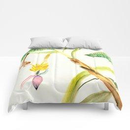 Banana Tree and Monkey Comforters