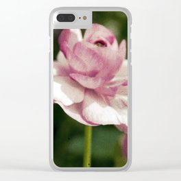 spring has sprung Clear iPhone Case
