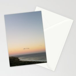 Overlooking Boulder Beach at Dusk Stationery Cards