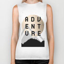 Adventure Golden Sunrise Biker Tank