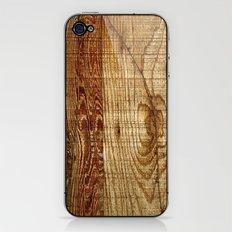 Wood Photography iPhone & iPod Skin