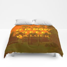 Coffee O'Clock Comforters