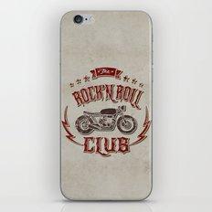 Rock 'n Roll Motorcycle Club iPhone & iPod Skin