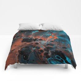 Copper Ocean Comforters