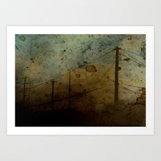 The Skies Grew Darker (It Made Our Hearts Seem Lighter) Art Print