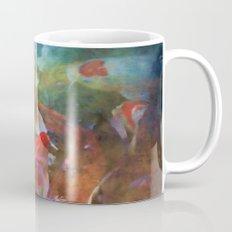 A swirl of Koi Mug