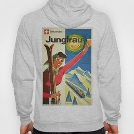 Classic Vintage Travel Poster Hoody