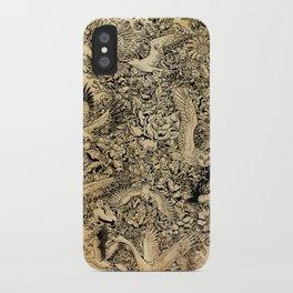 Blooming Flight iPhone Case
