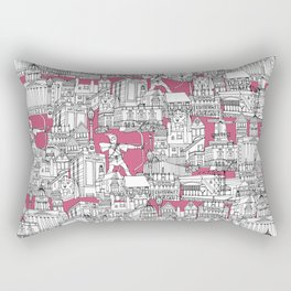 NOTTINGHAM BUBBLEGUM Rectangular Pillow