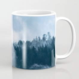 Clear away the fog to see the light. Blue Coffee Mug