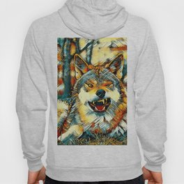 AnimalArt_Wolf_20170606_by_JAMColors Hoody
