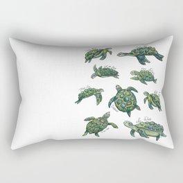 Sea Turtles Rectangular Pillow