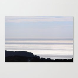 Mediterranean Sea Coastline 1 Canvas Print