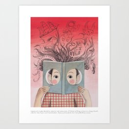 A Velocity of Being: Sophie Blackall Art Print