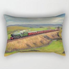 The Flying Scotsman Locomotive Rectangular Pillow