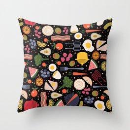 Kitchen Stuff Throw Pillow