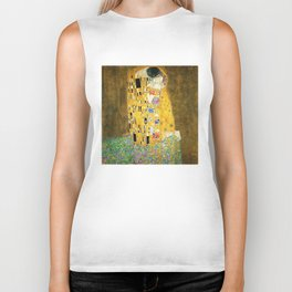Gustav Klimt The Kiss Biker Tank