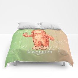 Sasquatch - Cute Cryptid Comforters
