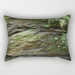 Cracked rocks Rectangular Pillow