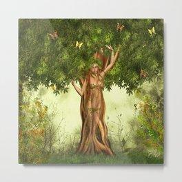 Mother Nature Tree Metal Print