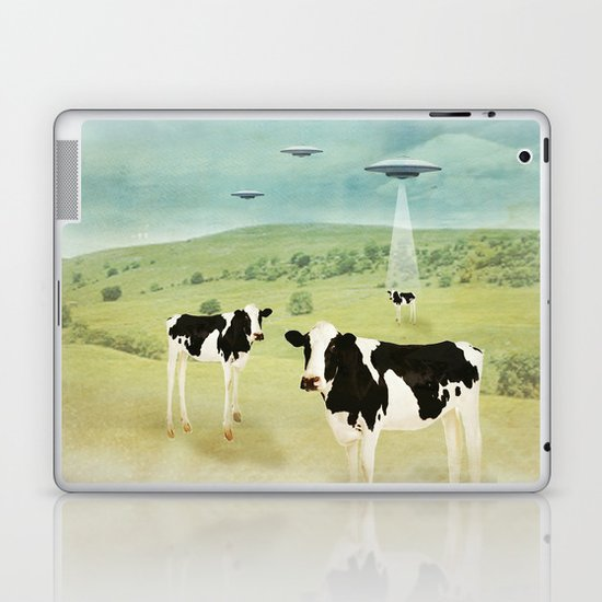 we all like burgers _ US AND THEM  Laptop & iPad Skin