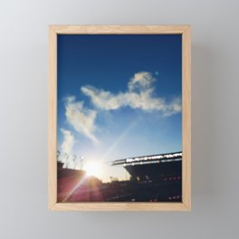 Lincoln Financial Field Framed Mini Art Print