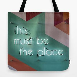 Right Here Tote Bag
