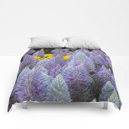 Fox tail Flowers Comforters