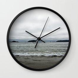 Tofino Shorelines Wall Clock