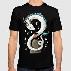 Dragon Spirit Black MEDIUM Mens Fitted Tee
