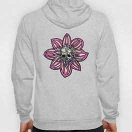 Skull Flower (pink) by Schmiedlin Hoody