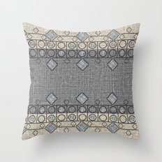 Smoke and Vanilla Throw Pillow