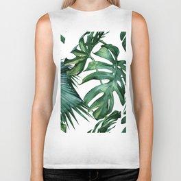 Simply Island Palm Leaves Biker Tank