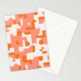 Puzzle Tiles #society6 #pattern Stationery Cards