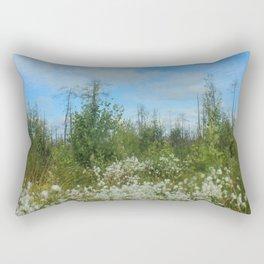 Swamp flowers Rectangular Pillow