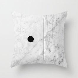 Marble Fun Throw Pillow