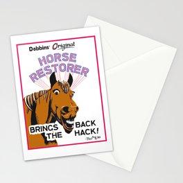 Horse Restorer Stationery Cards