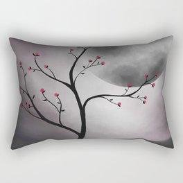Midnight Peach Rectangular Pillow