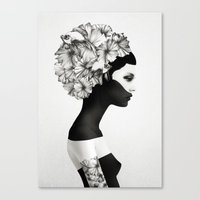 contact Canvas Prints featuring Marianna by Ruben Ireland