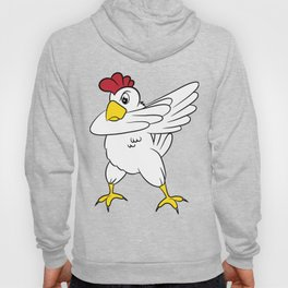 "Funny and trendy ""Dabbing Chicken"" tee design perfect gift this holiday! Makes a unique  Hoody"