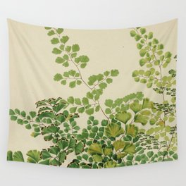 Maidenhair Ferns Wall Tapestry