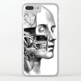 I rip your face Clear iPhone Case