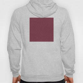 Red (Rouge) Magenta Tres Petit Geometric Pattern Hoody