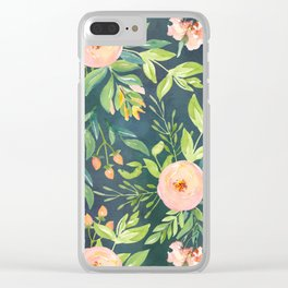 The Night Meadow Clear iPhone Case