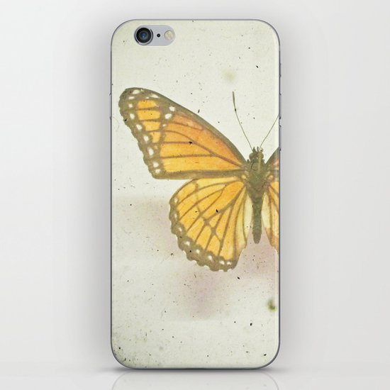 Golden Butterfly iPhone & iPod Skin
